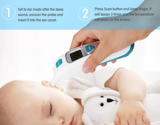 best baby thermoter reviews 2018