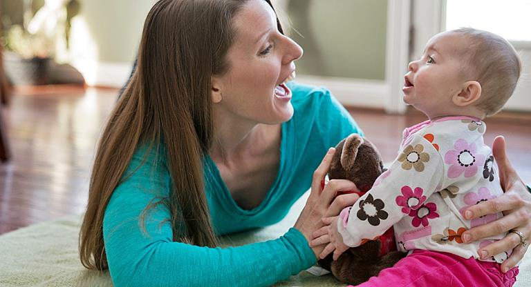 Baby Sit-Up Activity