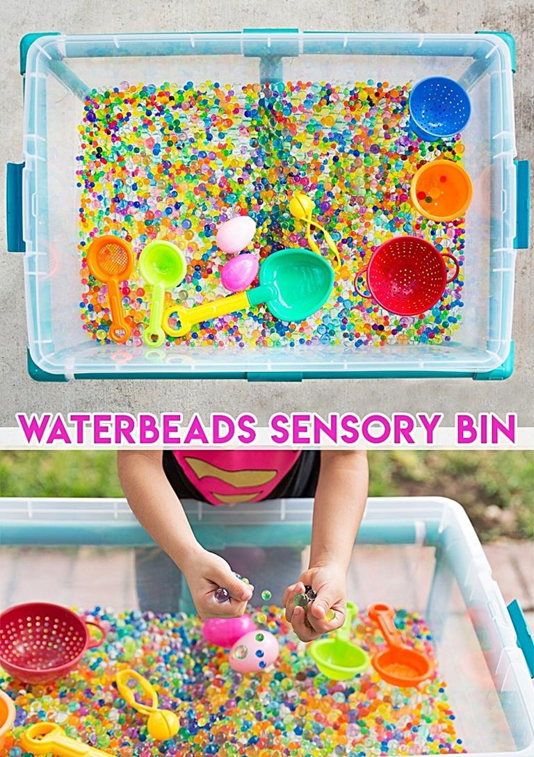 Water Beads Fall